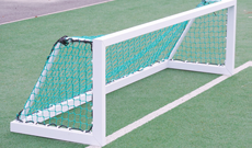 Single 2.44m x 0.8m aluminium freestanding training goals.