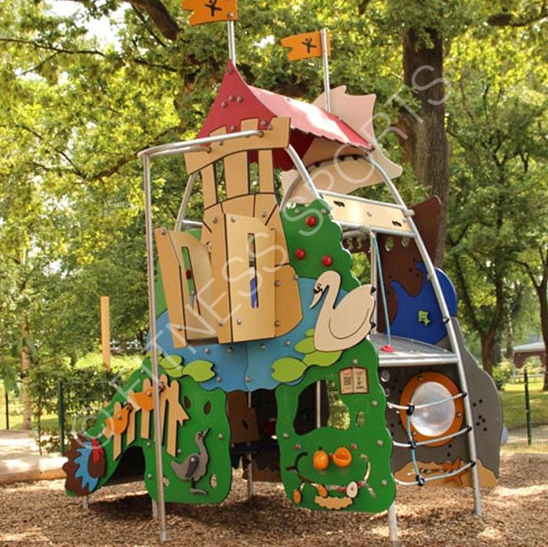 Super Childrens Outdoor Play Area Tree House Tower Playground Download Free Architecture Designs Scobabritishbridgeorg