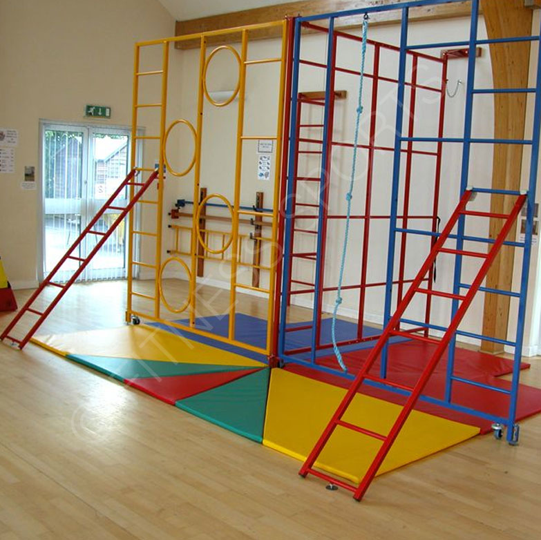 Trio Steel Folding Gymnasium PE School Gymnasium Climbing Frame ...