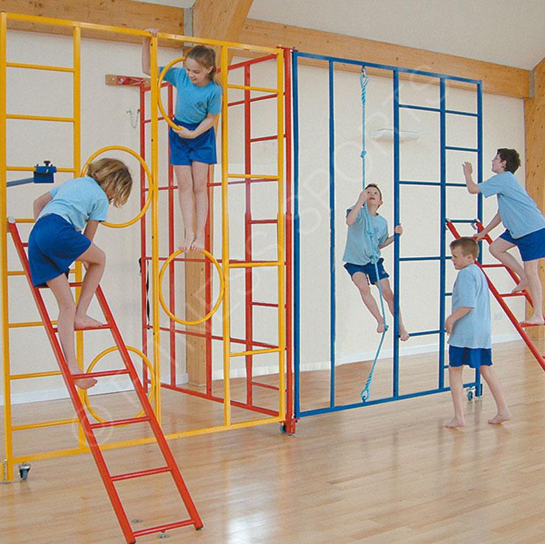 Trio Steel Folding Gymnasium PE School Gymnasium Climbing