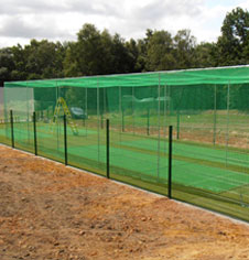 bespoke cricket practice areas