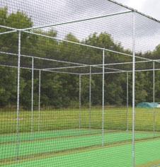 bespoke cricket practice areas