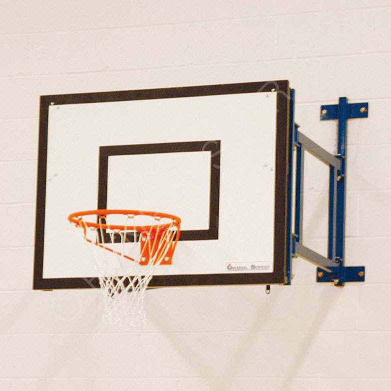 Wall Fixed Extended Basketball Goal