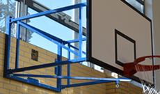 Wall Folding Basketball Hoop