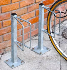 Steel Wheel Mounted Cycle Stands