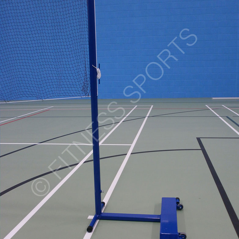 Wheeled Badminton Posts Indoor Badminton Posts Fitness