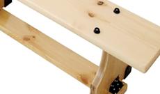 Wooden PE Bench